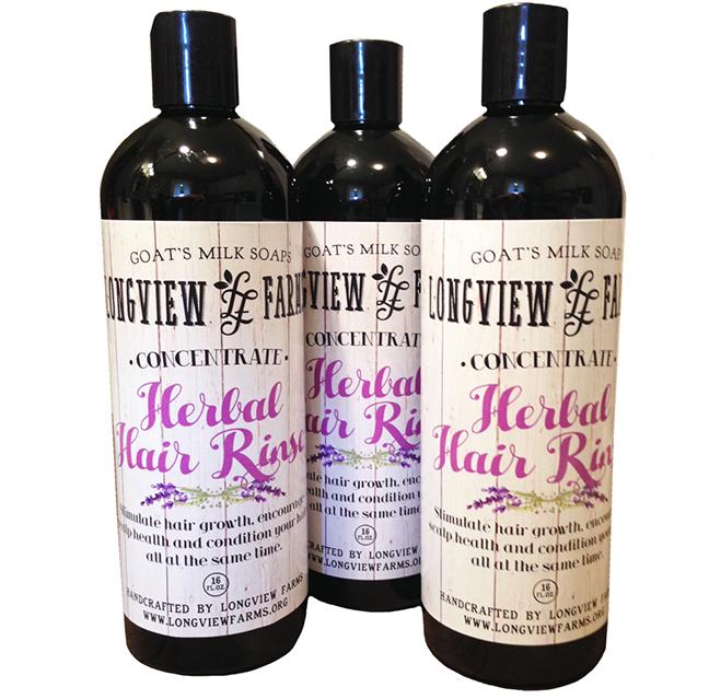 Herbal Hair Rinse – Longview Farms | Goats Milk Soaps