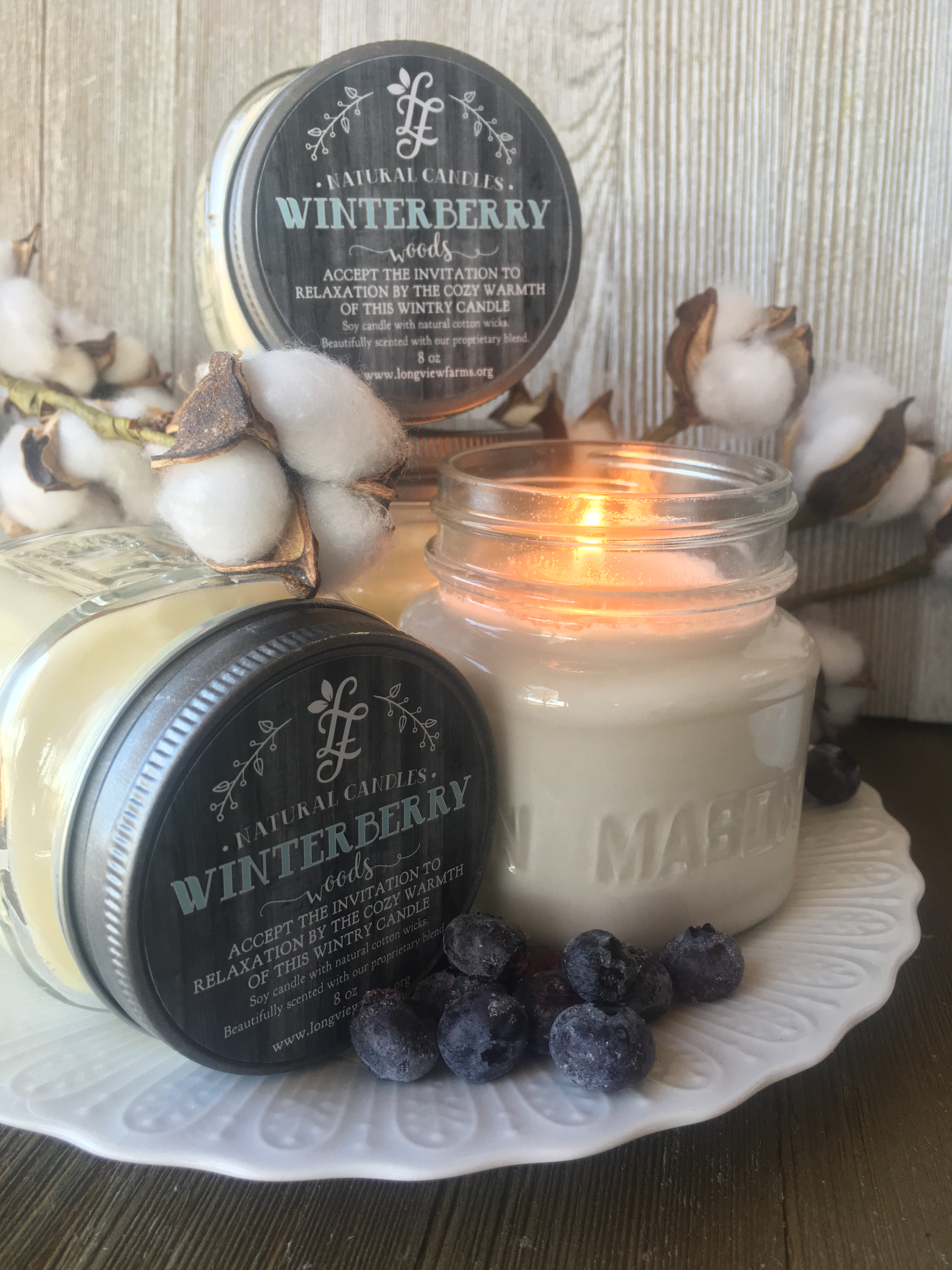 We Re Pretty Excited About Our New Soy Candle Winterberry Woods It S Loaded With Juicy Berries Blended Siberian Fir And Sprinkled E